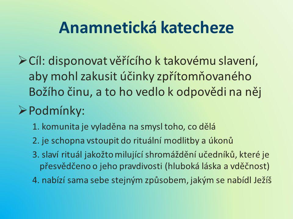 Anamnetická katecheze