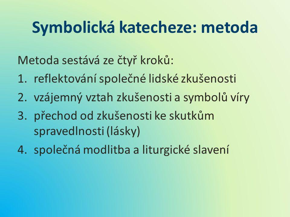 Symbolická katecheze: metoda