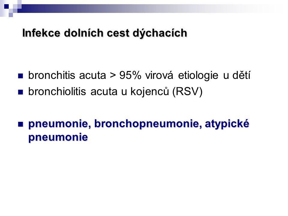 Infekce dolních cest dýchacích