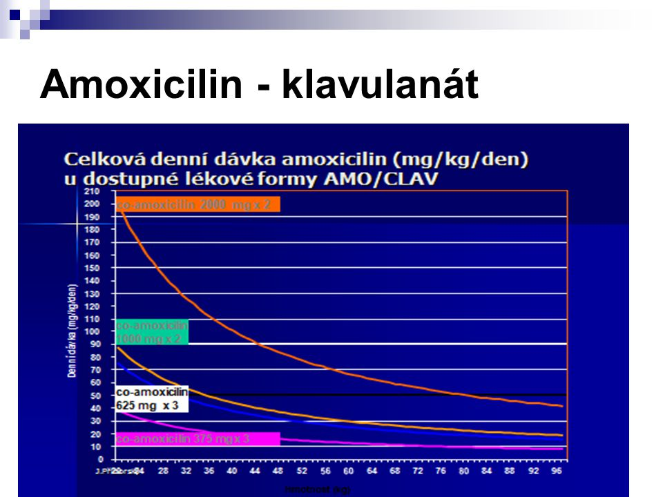 Amoxicilin - klavulanát