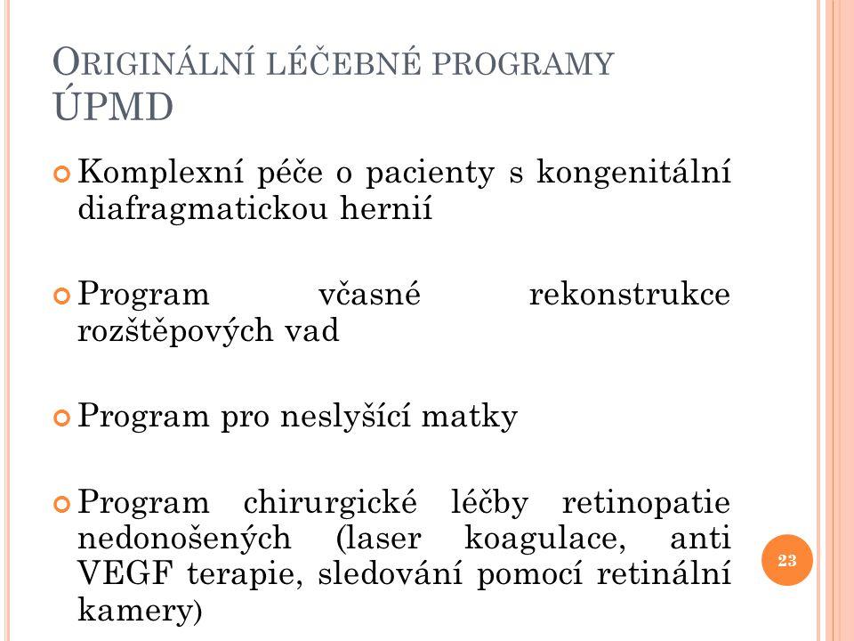 Originální léčebné programy ÚPMD