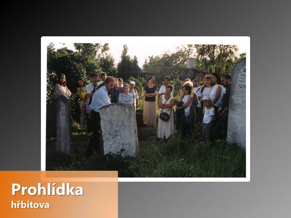 Prohlídka hřbitova