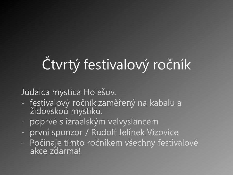 Čtvrtý festivalový ročník