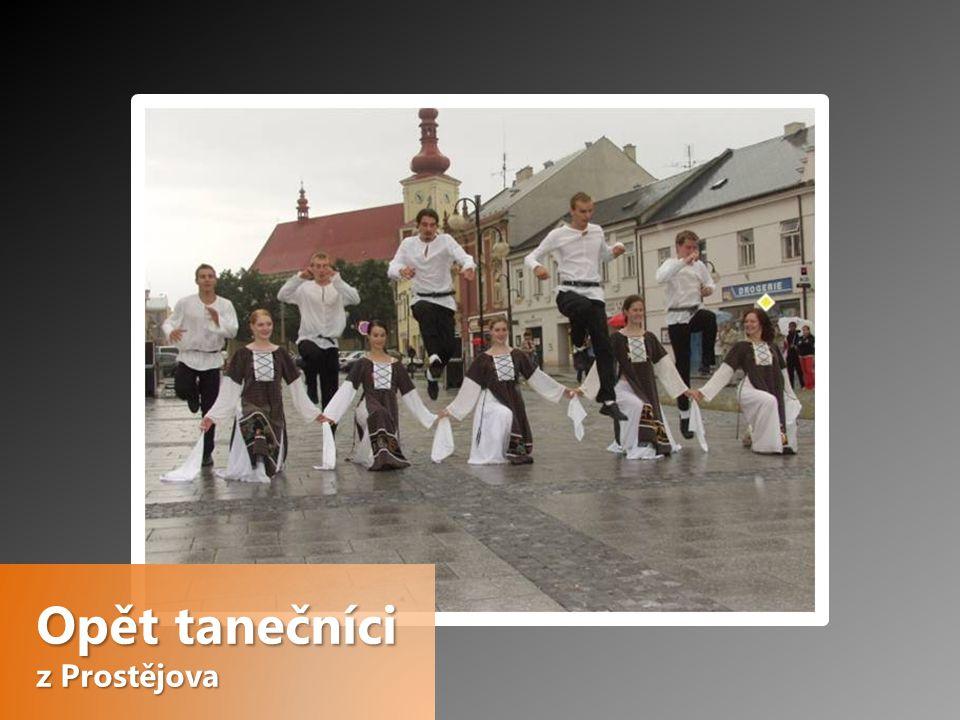 Opět tanečníci z Prostějova