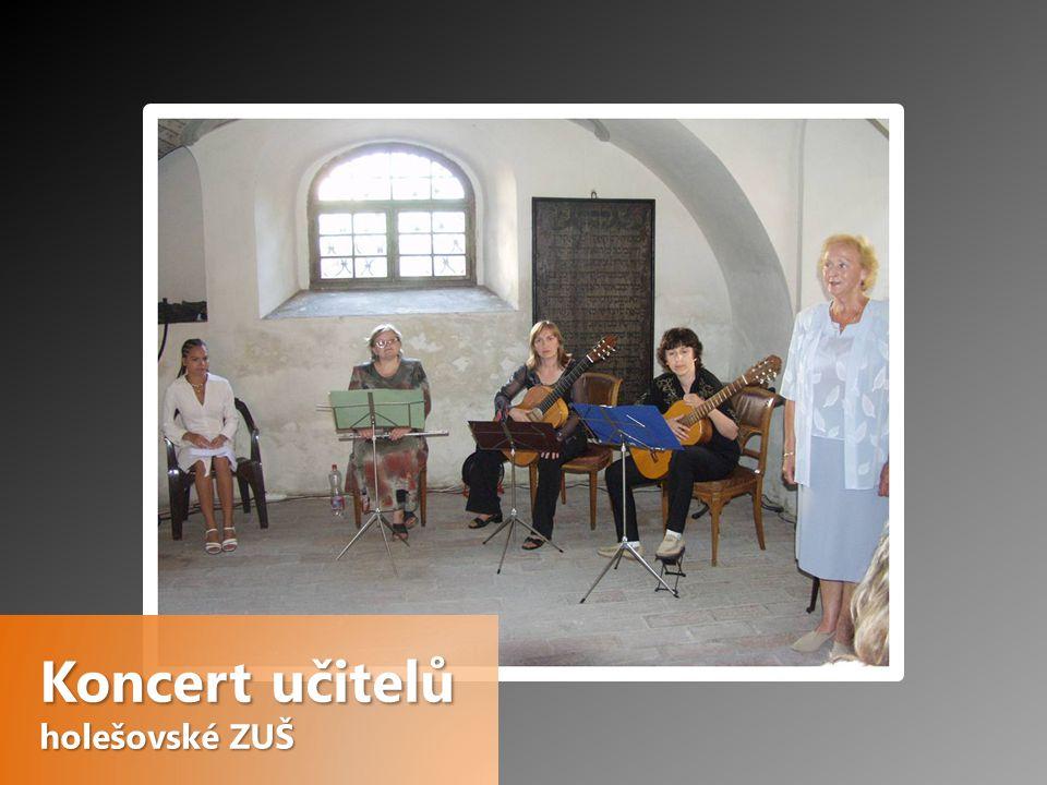 Koncert učitelů holešovské ZUŠ