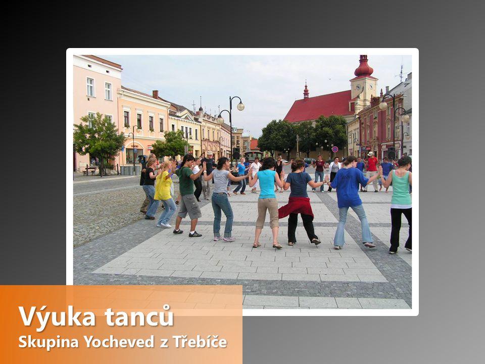 Výuka tanců Skupina Yocheved z Třebíče