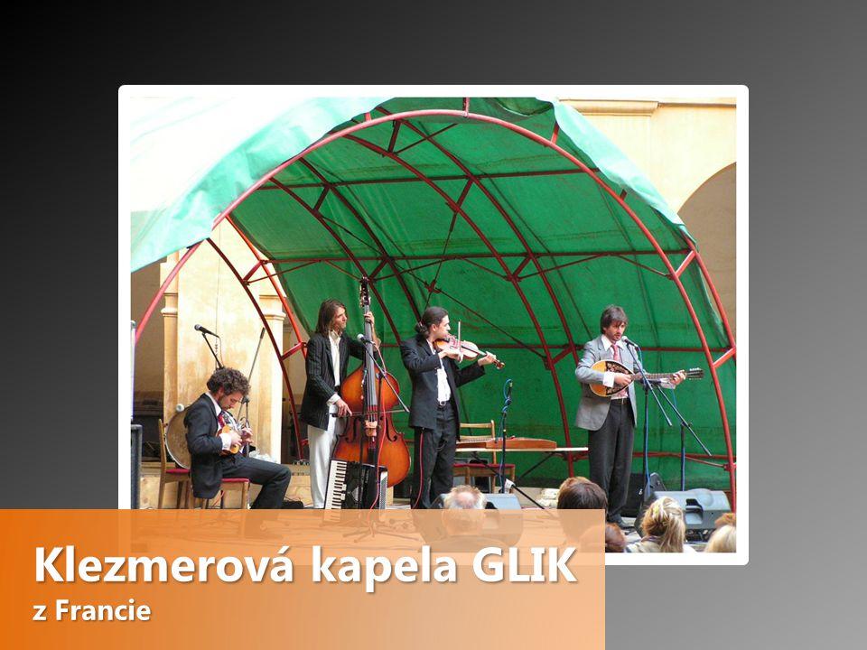 Klezmerová kapela GLIK