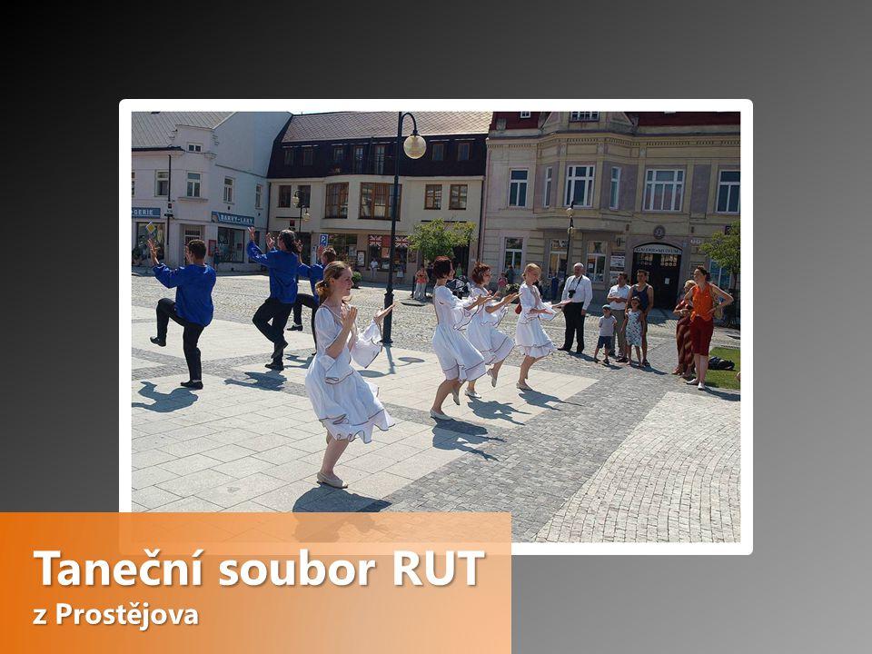 Taneční soubor RUT z Prostějova