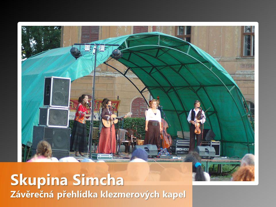 Skupina Simcha Závěrečná přehlídka klezmerových kapel