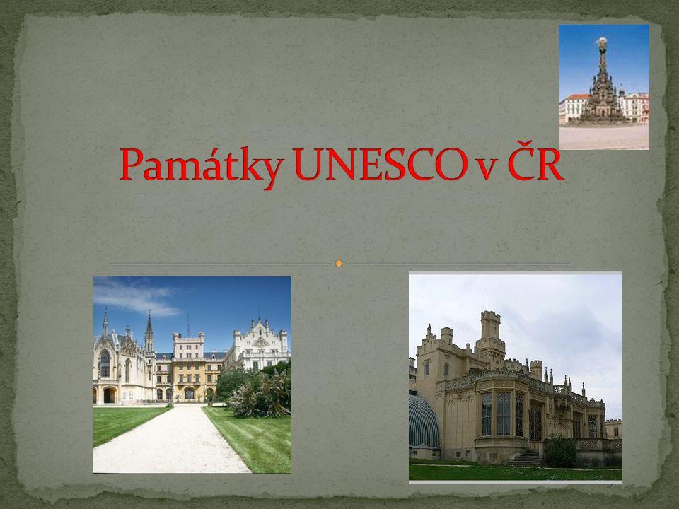 Památky UNESCO v ČR