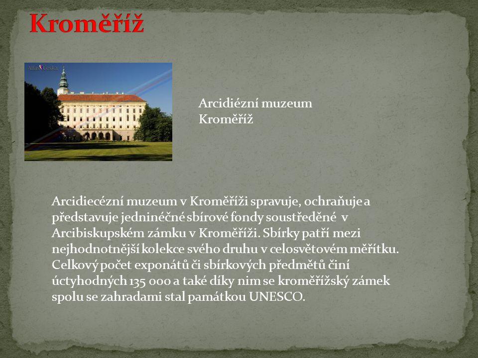Kroměříž Arcidiézní muzeum Kroměříž