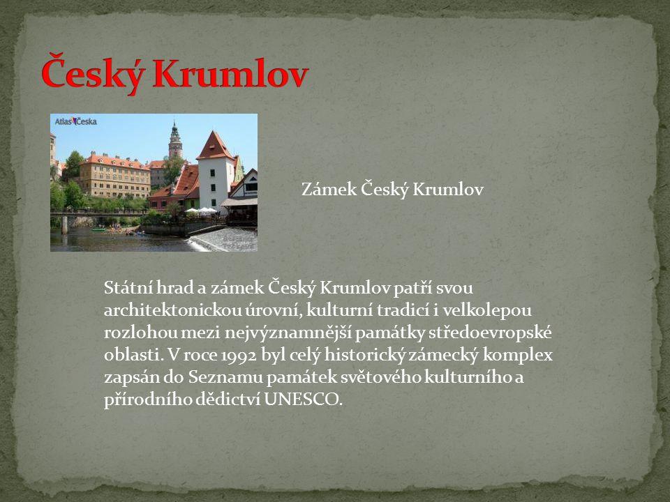 Český Krumlov Zámek Český Krumlov