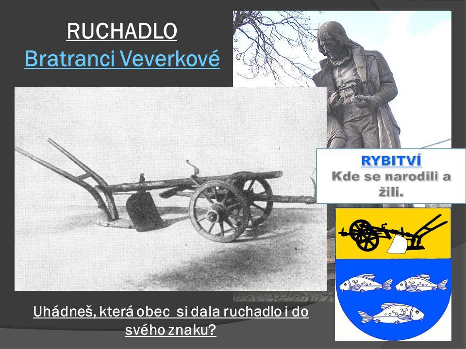 RUCHADLO Bratranci Veverkové