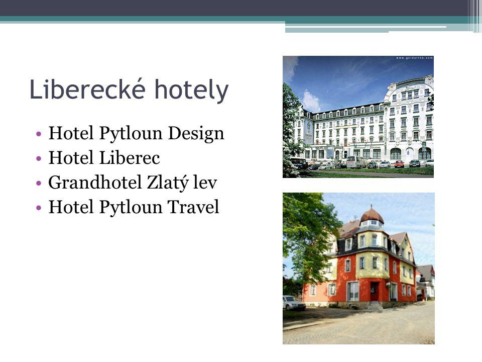 Liberecké hotely Hotel Pytloun Design Hotel Liberec