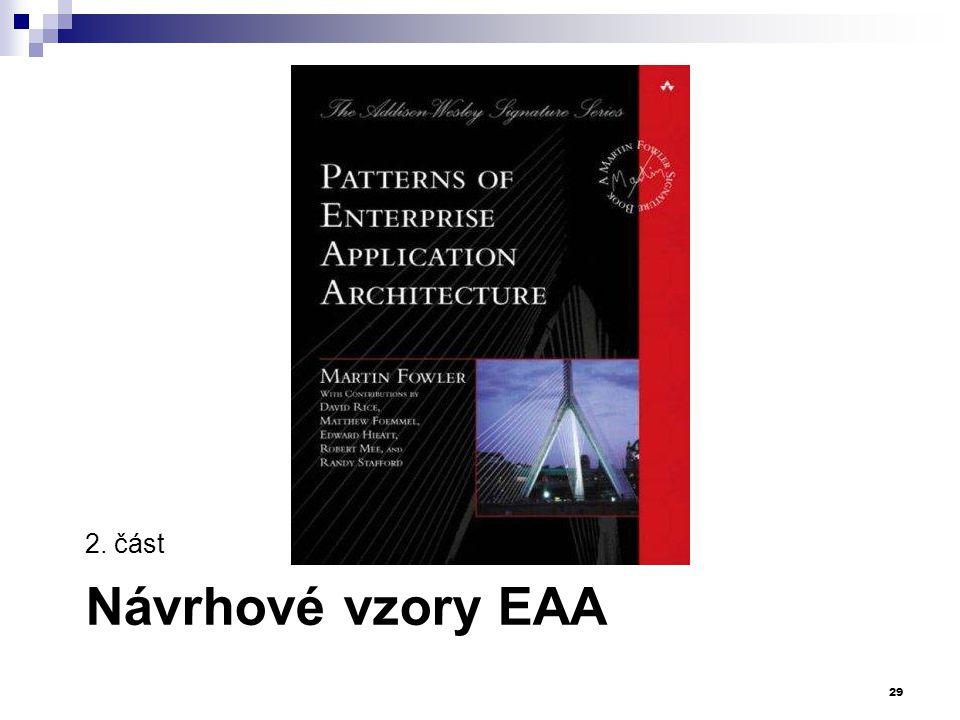 2. část Návrhové vzory EAA