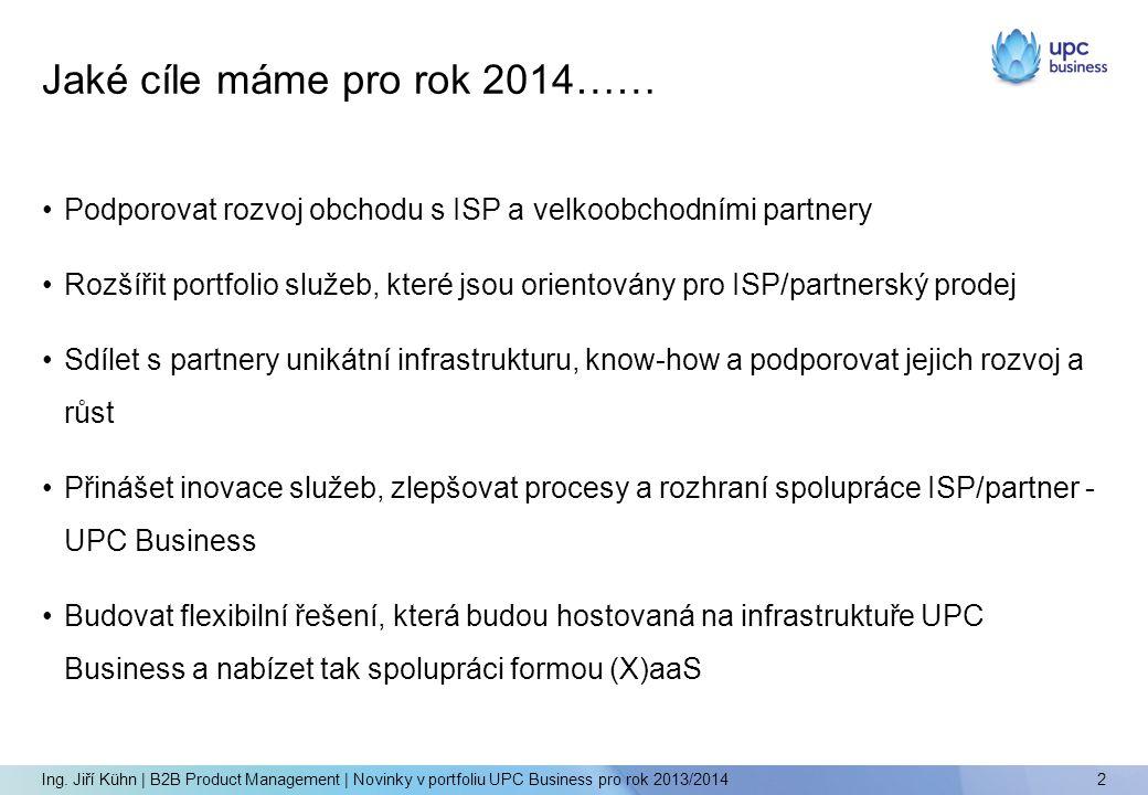 Jaké cíle máme pro rok 2014……