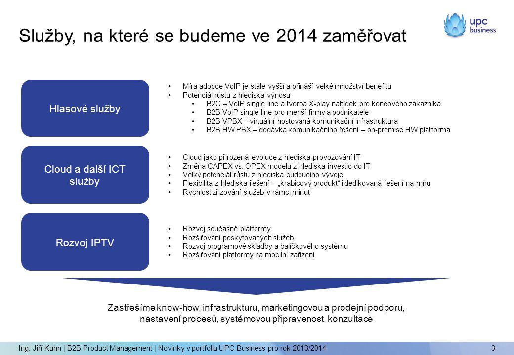 Služby, na které se budeme ve 2014 zaměřovat