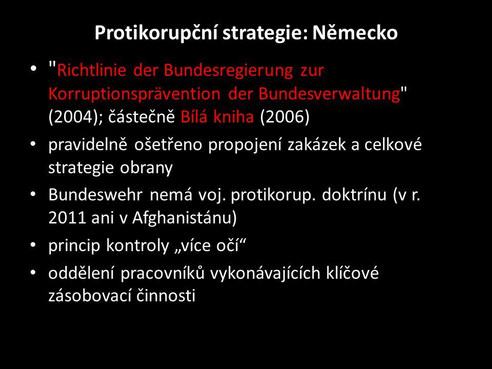 Protikorupční strategie: Německo