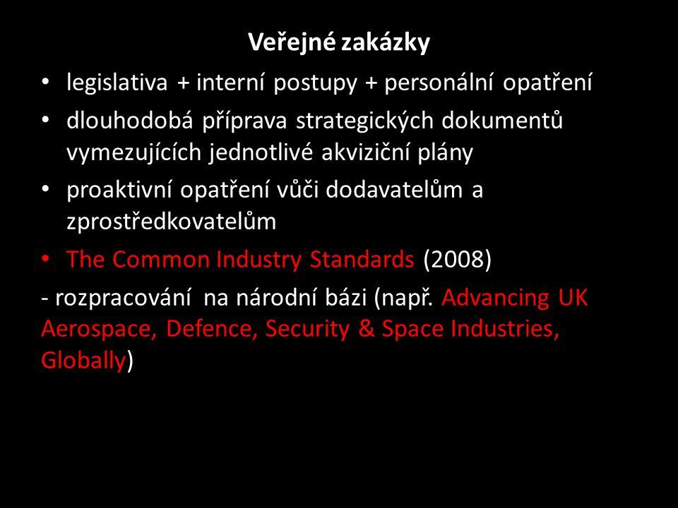 Veřejné zakázky legislativa + interní postupy + personální opatření
