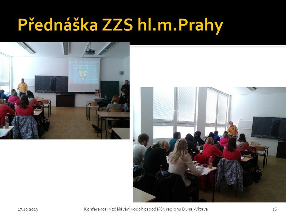 Přednáška ZZS hl.m.Prahy