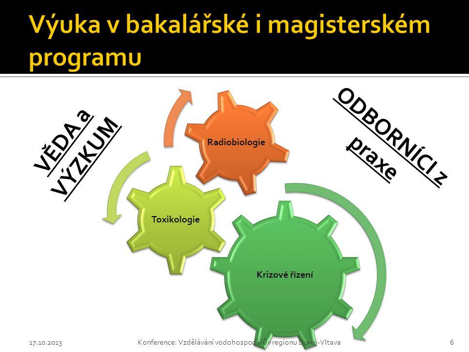Výuka v bakalářské i magisterském programu