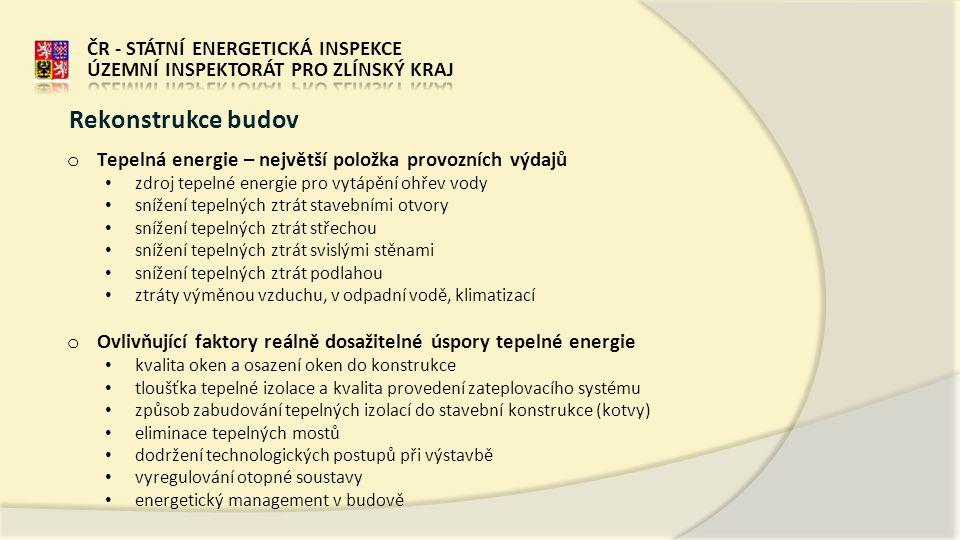 Rekonstrukce budov ČR - STÁTNÍ ENERGETICKÁ INSPEKCE