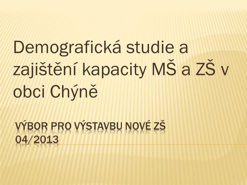 Výbor pro výstavbu nové ZŠ 04/2013