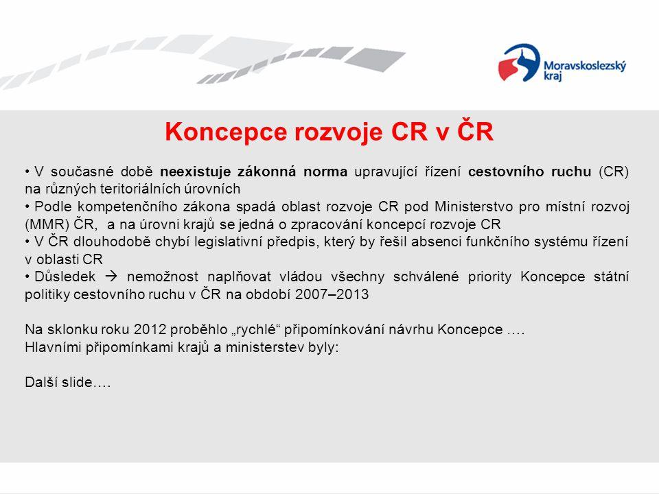 Koncepce rozvoje CR v ČR