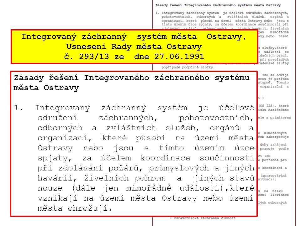 Integrovaný záchranný systém města Ostravy,