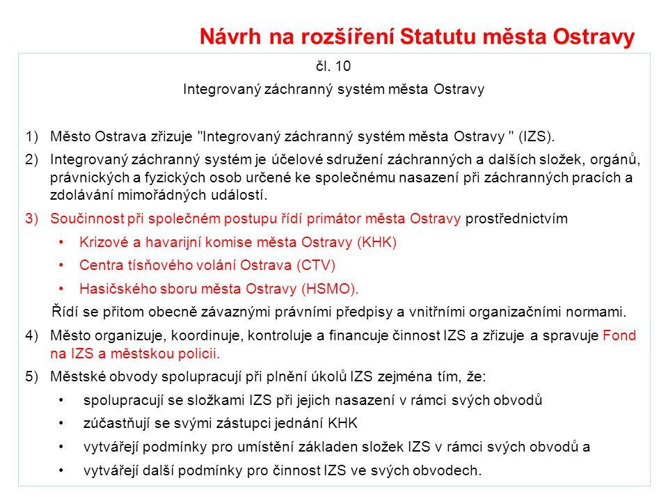 Integrovaný záchranný systém města Ostravy