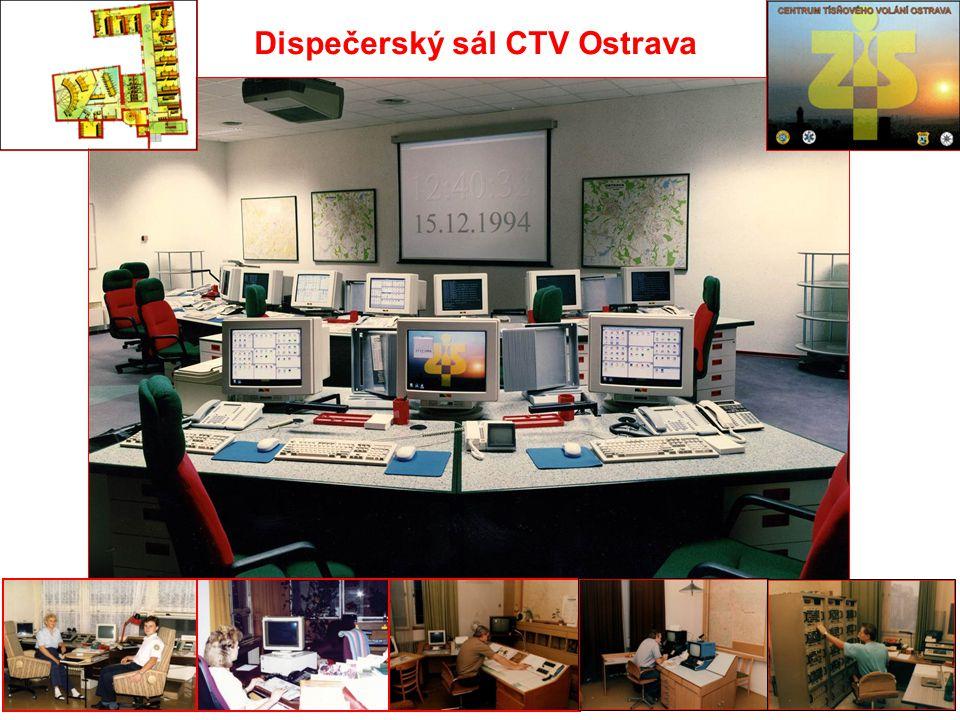 Dispečerský sál CTV Ostrava