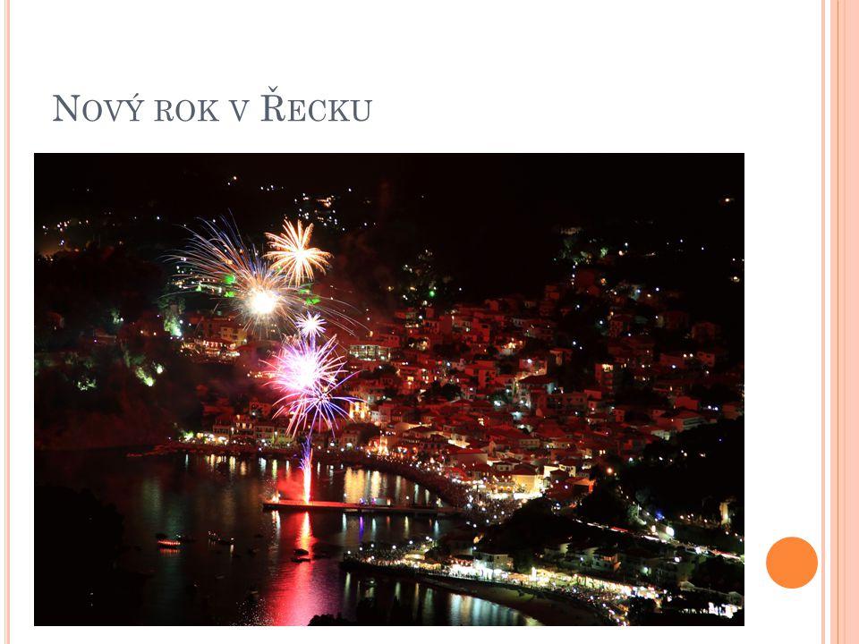Nový rok v Řecku