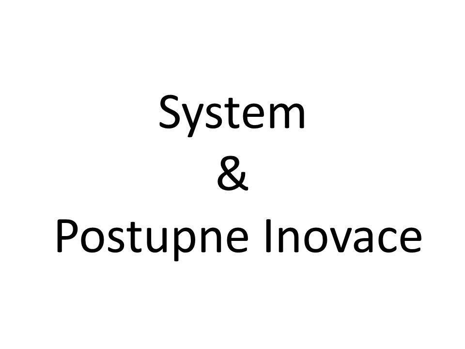 System & Postupne Inovace
