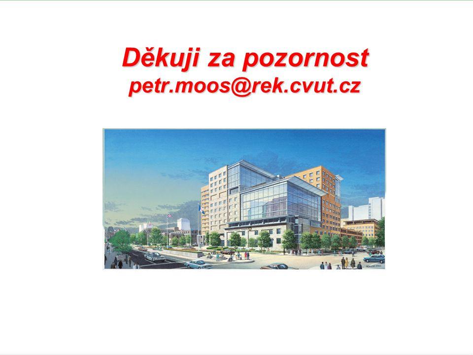Děkuji za pozornost petr.moos@rek.cvut.cz