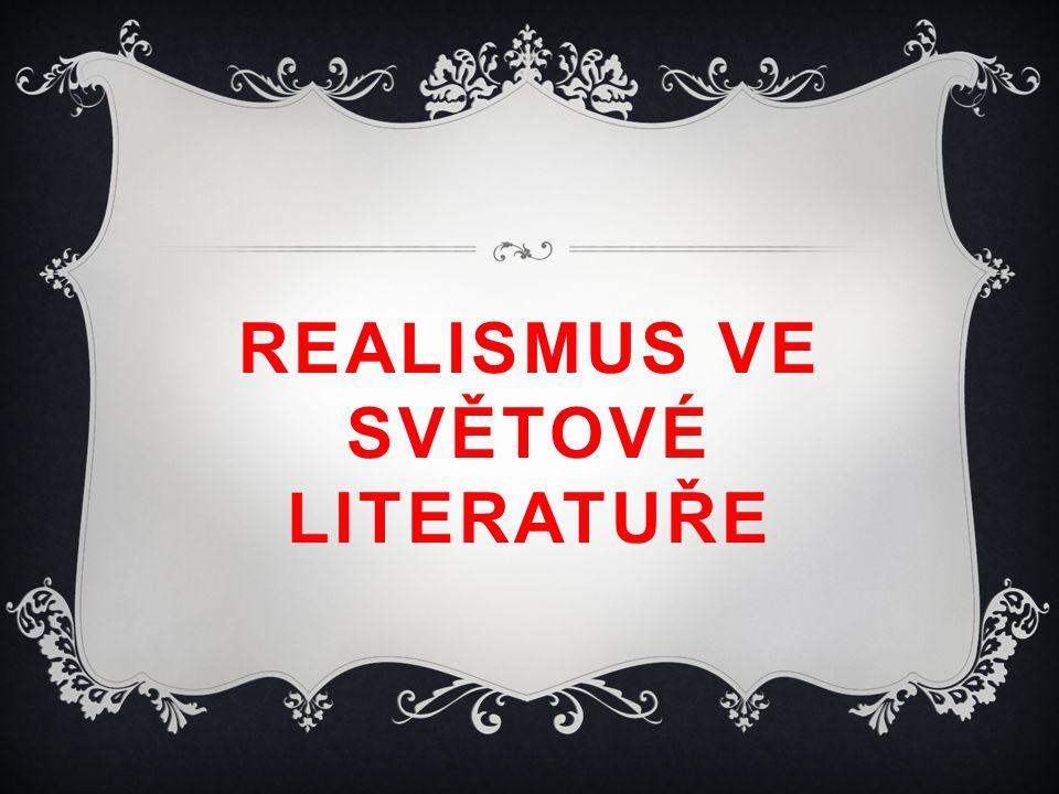 Realismus ve světové literatuře