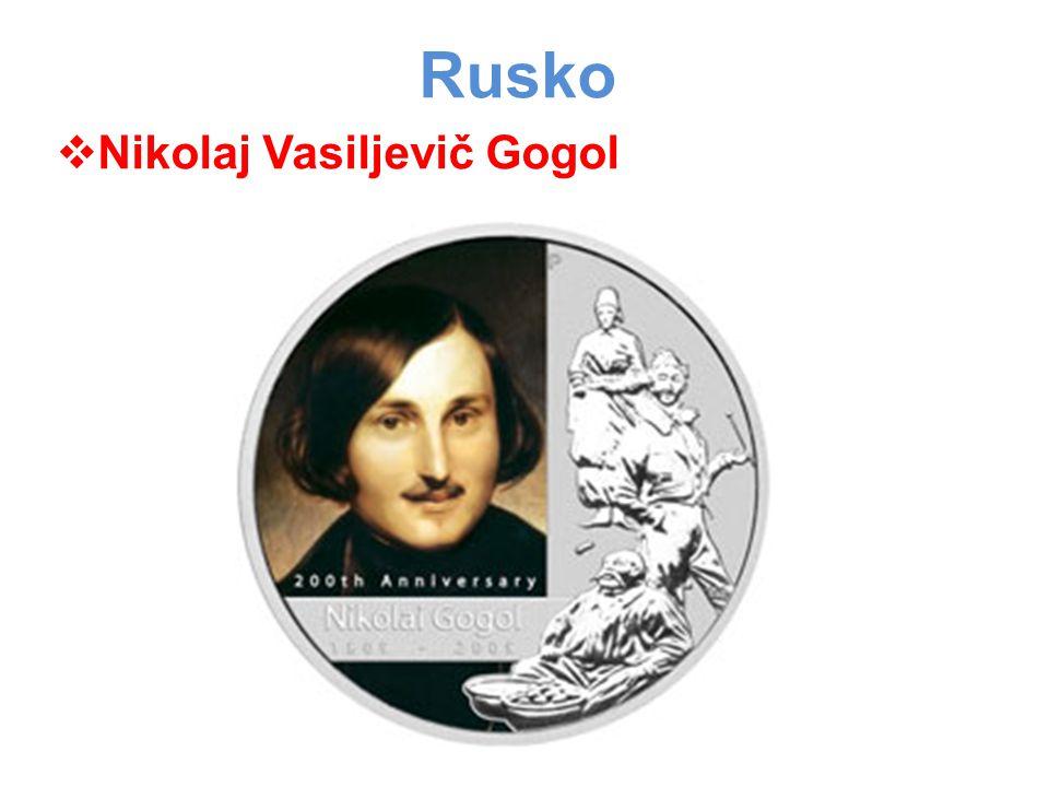 Rusko Nikolaj Vasiljevič Gogol