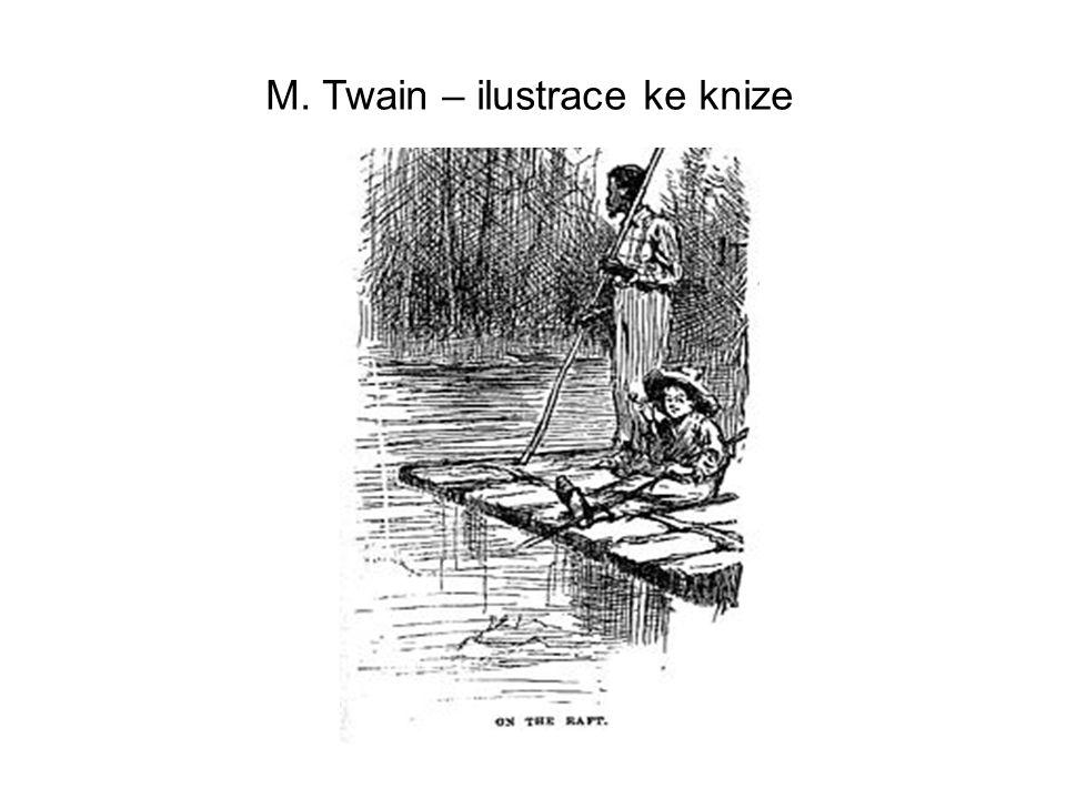 M. Twain – ilustrace ke knize
