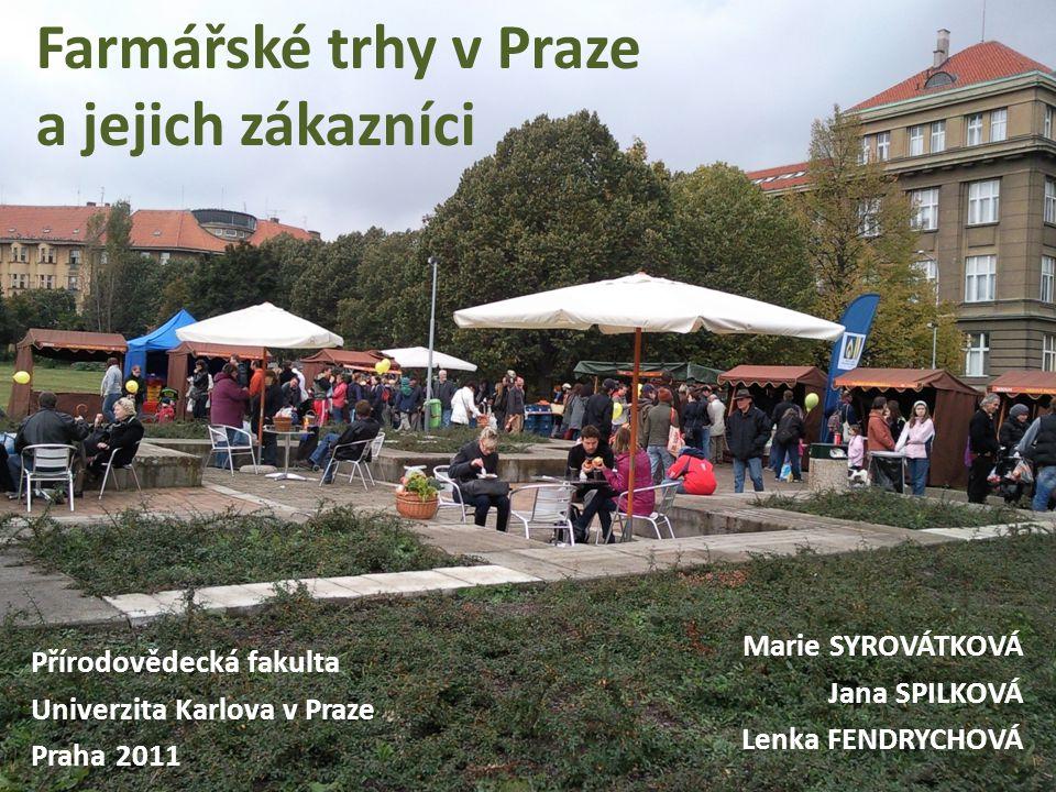 Farmářské trhy v Praze a jejich zákazníci