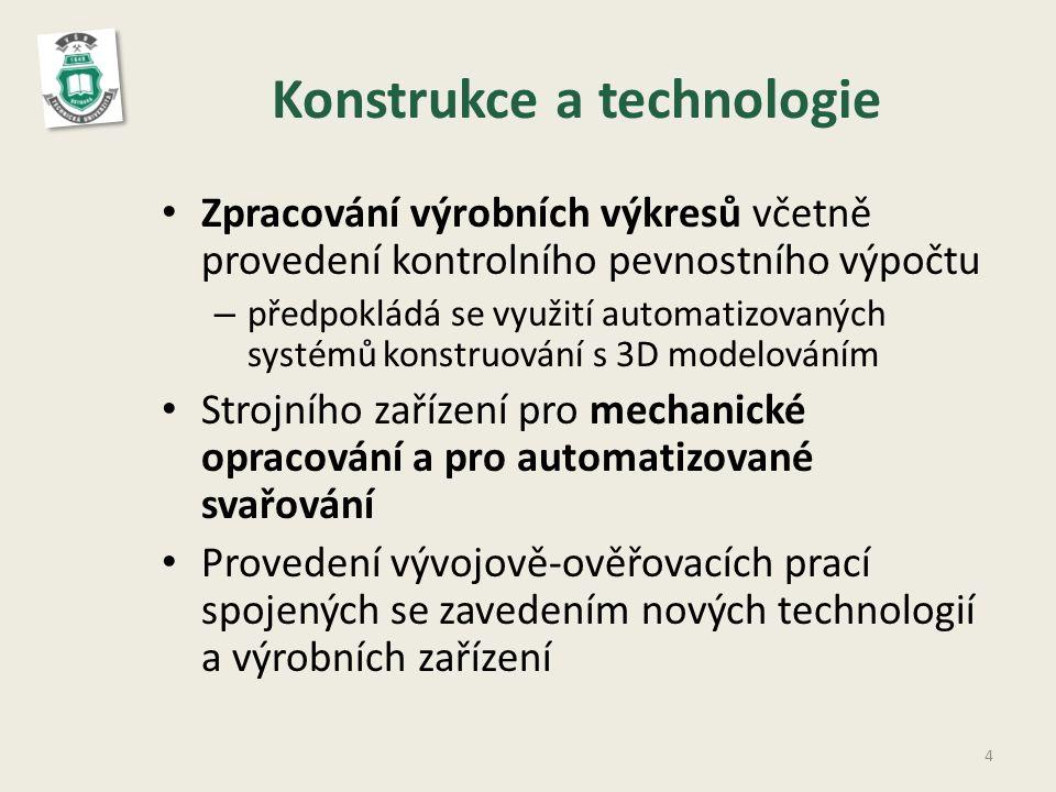 Konstrukce a technologie