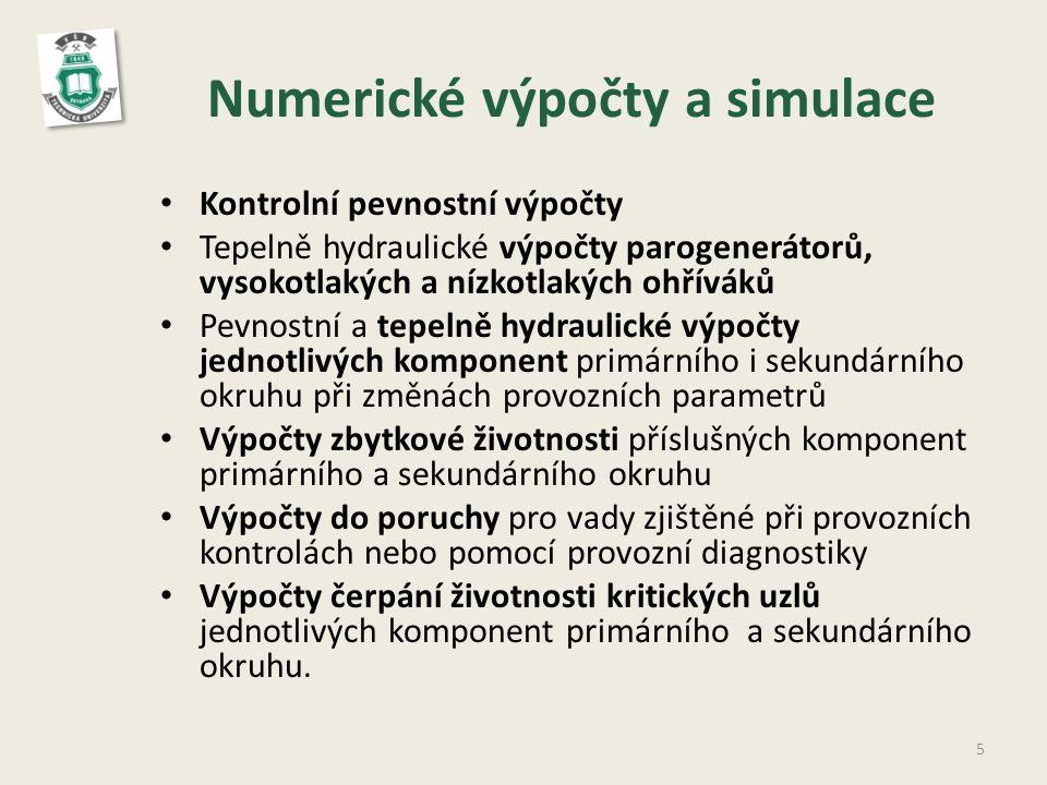Numerické výpočty a simulace