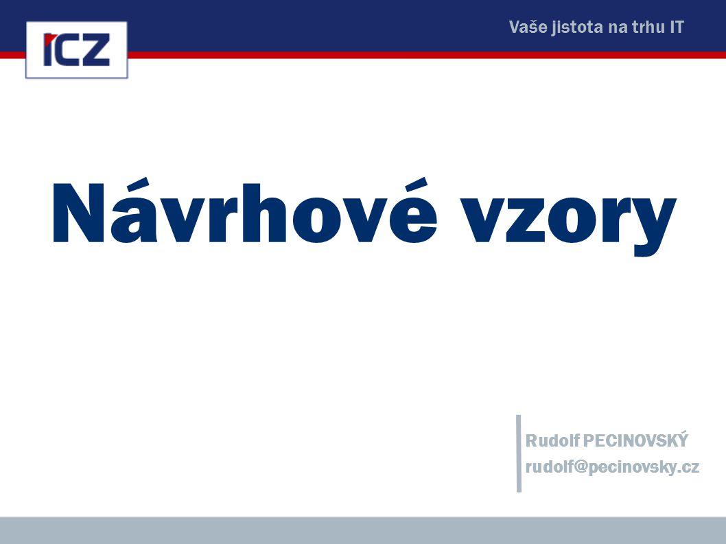 Rudolf PECINOVSKÝ rudolf@pecinovsky.cz