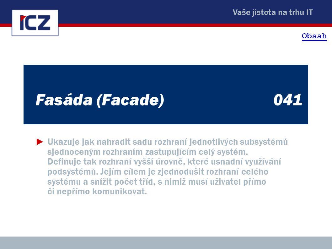 Obsah Fasáda (Facade) 041.