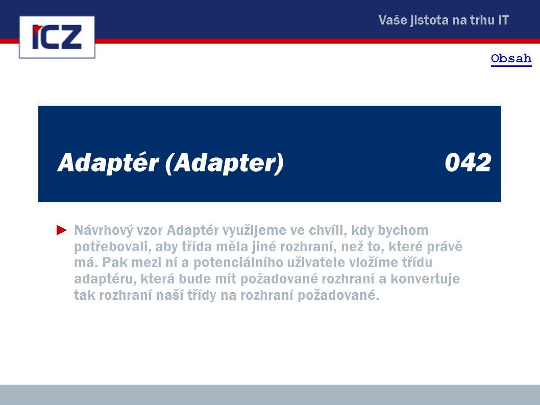 Obsah Adaptér (Adapter) 042.