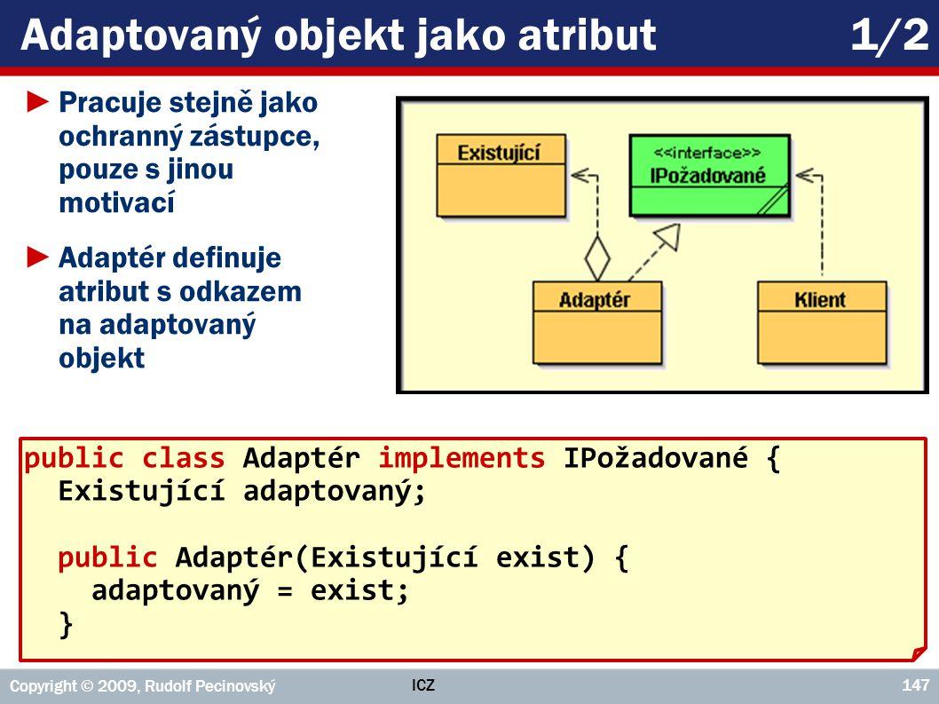 Adaptovaný objekt jako atribut 1/2