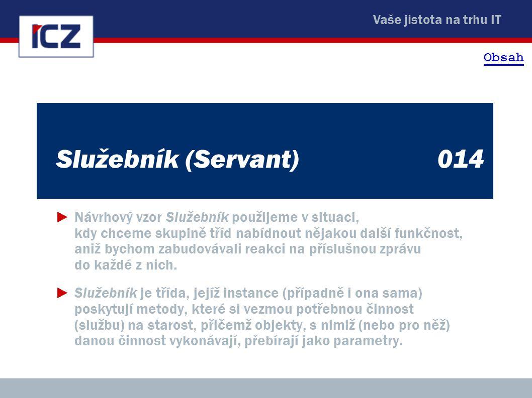 Obsah Služebník (Servant) 014.
