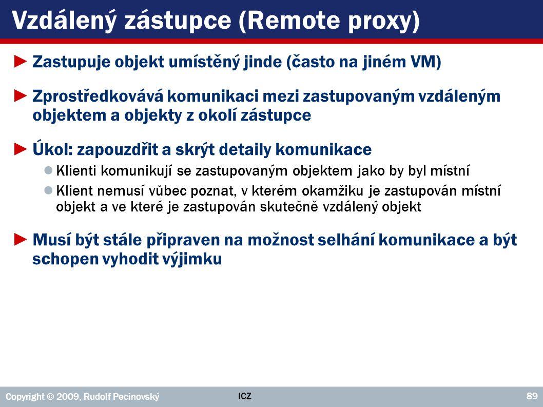 Vzdálený zástupce (Remote proxy)
