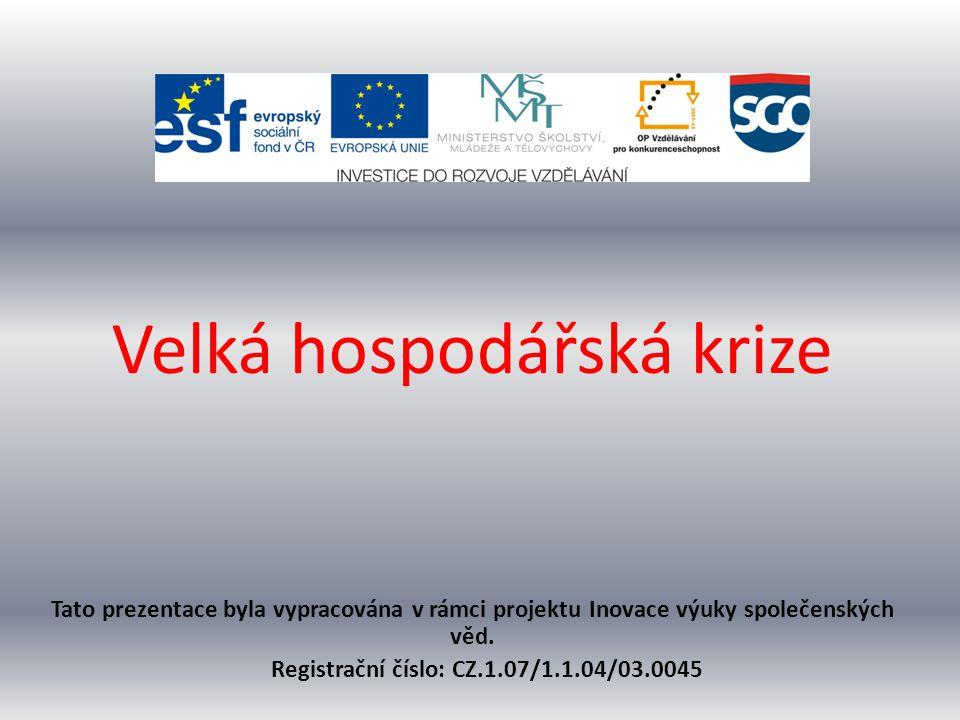 Registrační číslo: CZ.1.07/1.1.04/03.0045