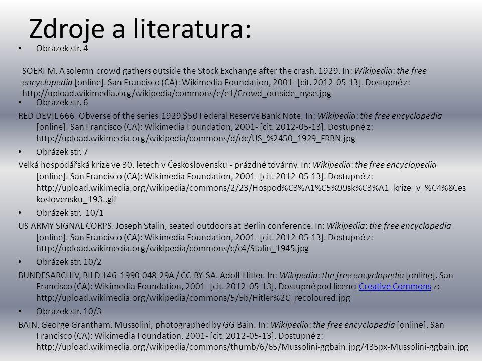 Zdroje a literatura: Obrázek str. 4