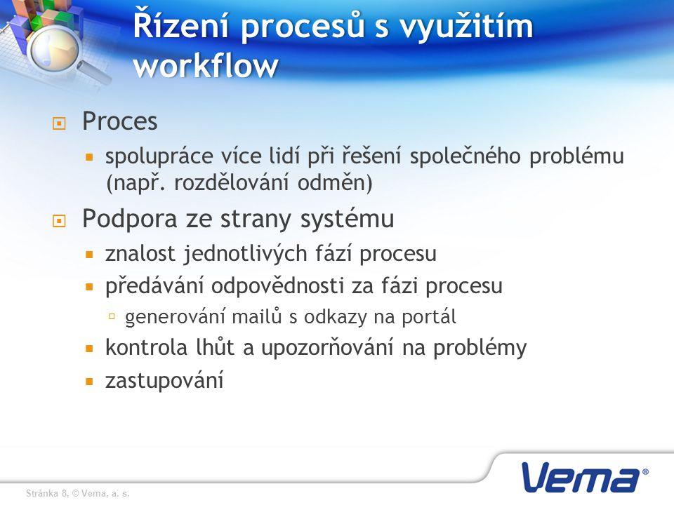 Řízení procesů s využitím workflow