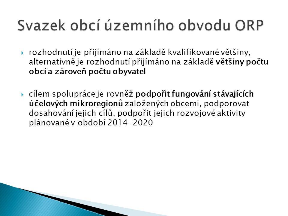 Svazek obcí územního obvodu ORP